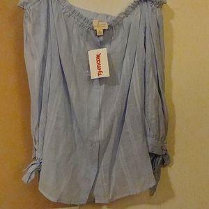 3/$15 sale. NWT. Light blue.